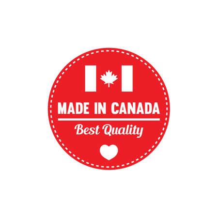 カナダのラベルで行われました。 写真素材 - 81535160