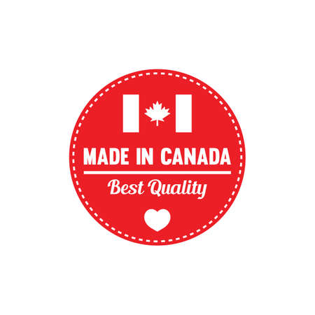 authenticity: made in canada label