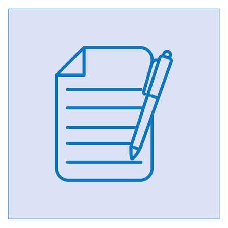 document sheet icon Archivio Fotografico - 106667894