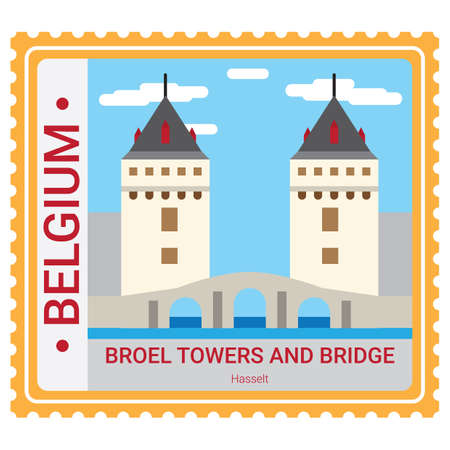 Broel towers and bridge Фото со стока - 81589603