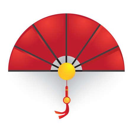 Fan de main chinoise Banque d'images - 81534164