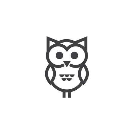 An owl illustration. Ilustração
