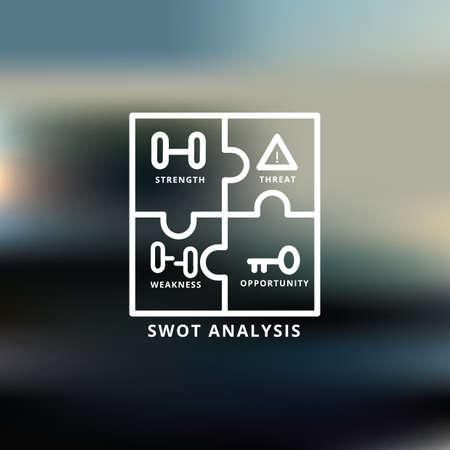 SWOT-Analyse Standard-Bild - 81535170