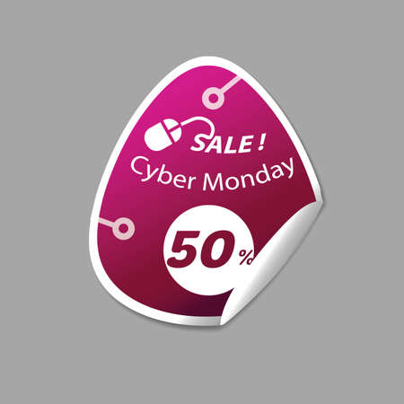 cyber monday sale sticker