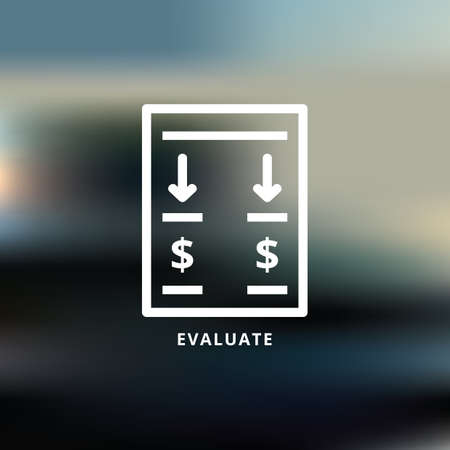 evaluate Illustration