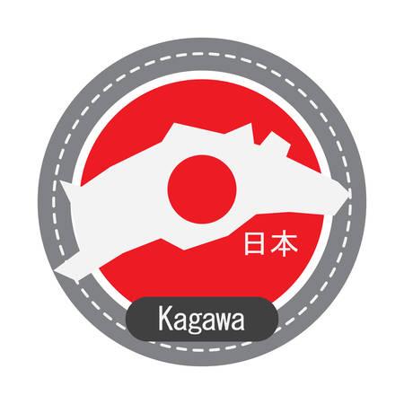 Kagawa map