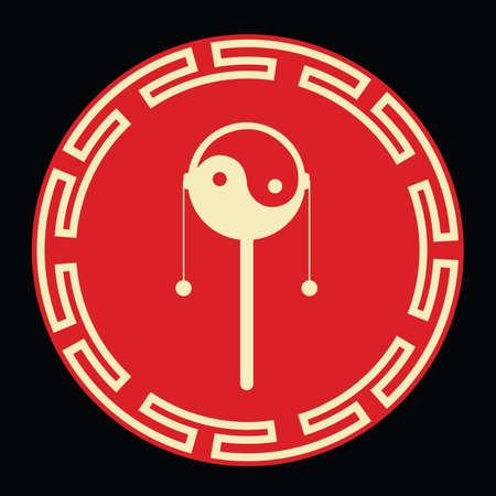 Giocattolo tradizionale cinese Archivio Fotografico - 81534246
