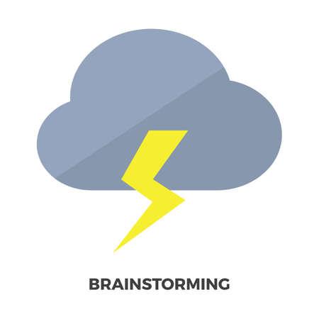 Brainstorming Иллюстрация