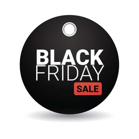black friday sale tag Ilustração