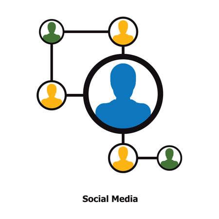소셜 미디어 개념