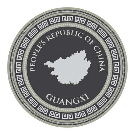 mappa di guangxi