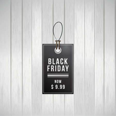 Black friday sale tag