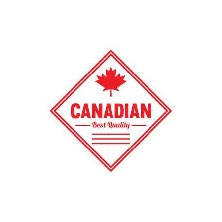 カナダ最高品質ラベル 写真素材 - 81589641