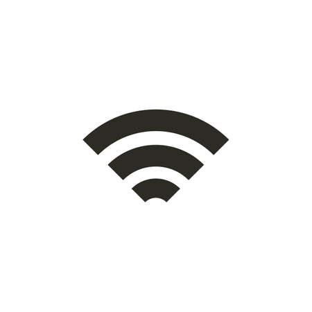 wireless signal icon 向量圖像