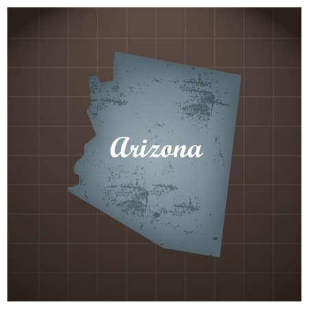 アリゾナ州地図