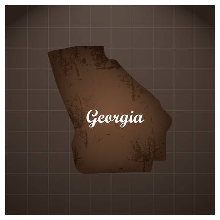 georgië staat kaart