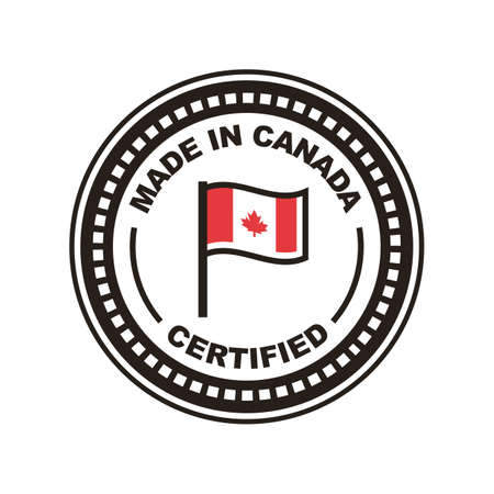 カナダのイラストで作られた A。 写真素材 - 81534017