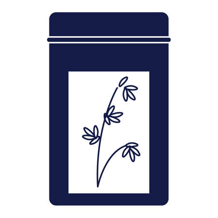 중국 차 잎 가방 일러스트