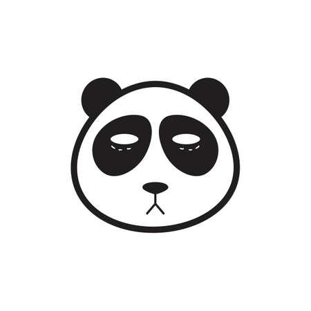 팬더 일러스트