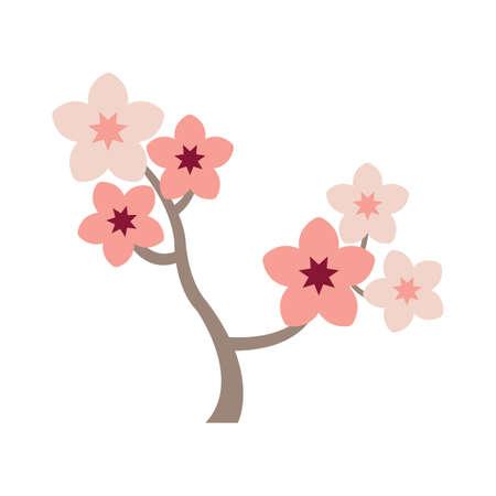 Sakura bloemenboom