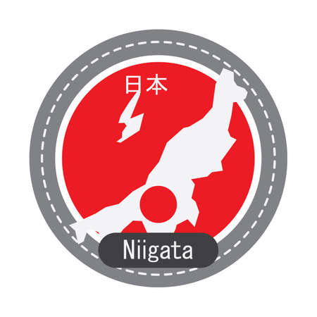 geographical: Niigata map