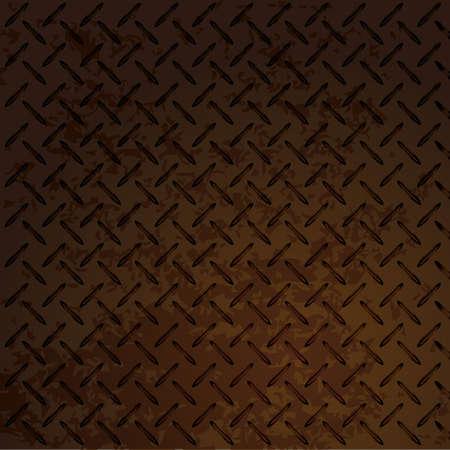 fondo de metal transparente Ilustración de vector