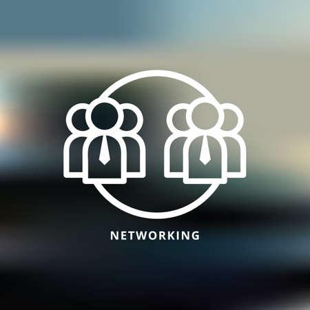 networking Ilustração