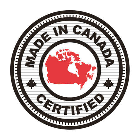 캐나다에서 만든 레이블 그림입니다.