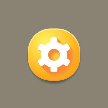 settings icon 向量圖像