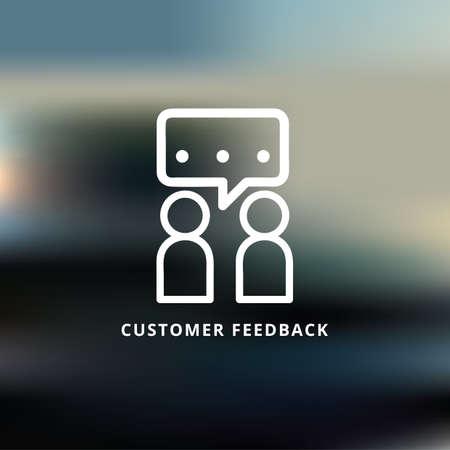 customer  feedback Reklamní fotografie - 81535207