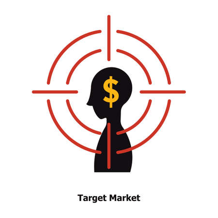 target market concept Imagens - 81589280