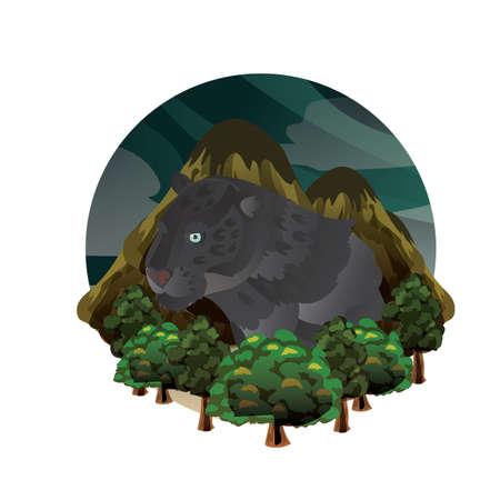 Panther Ilustração