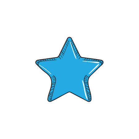star icon Stock Illustratie
