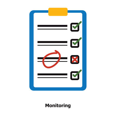 Clipboard with checklist 版權商用圖片 - 81589674