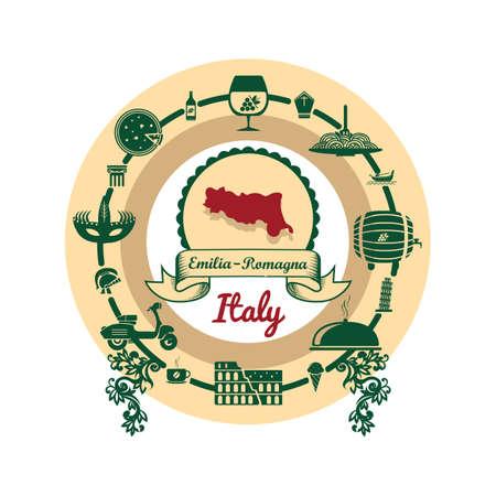 emilia romagna map label