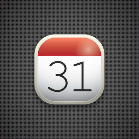 calendar icon Иллюстрация