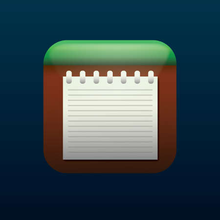 note icon Ilustrace