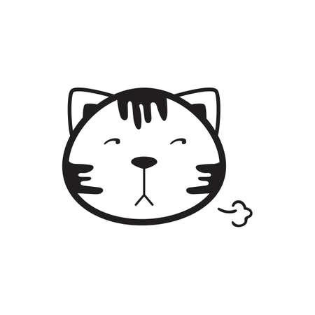 猫イラストです。