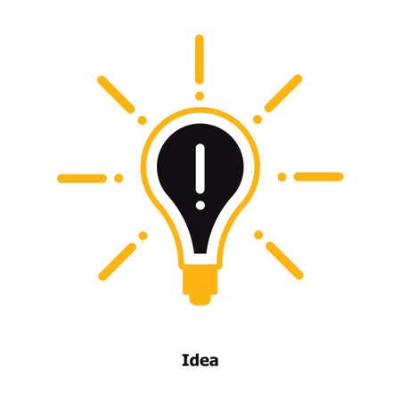 bulb idea concept