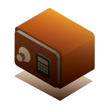 ロッカー  イラスト・ベクター素材