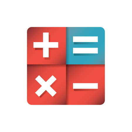 Icône de calcul Banque d'images - 81535216