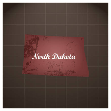 north dakota state map