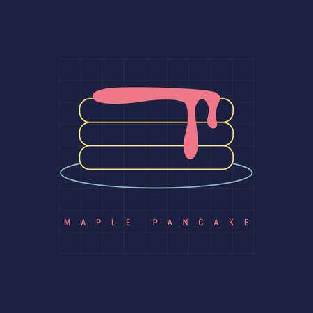 Pancake d & # Archivio Fotografico - 81535224