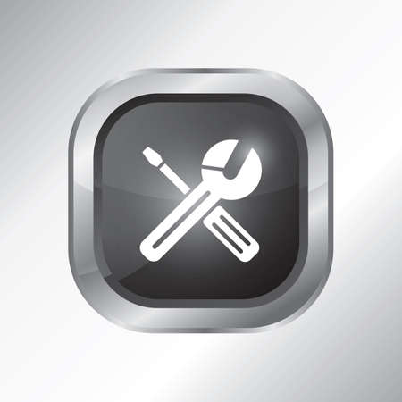 settings icon Иллюстрация
