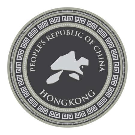 mappa di hongkong