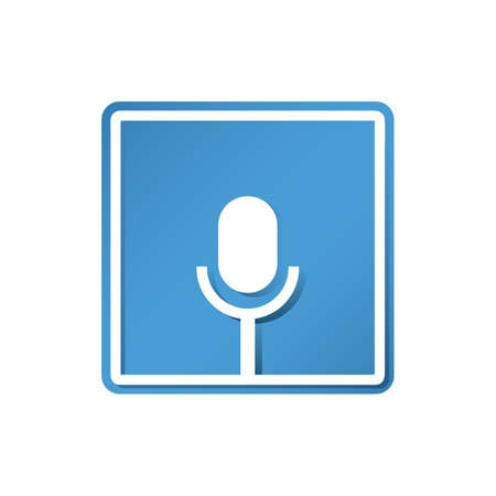 voice recorder icon Ilustrace