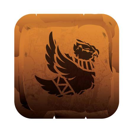 bird icon Foto de archivo - 106668138