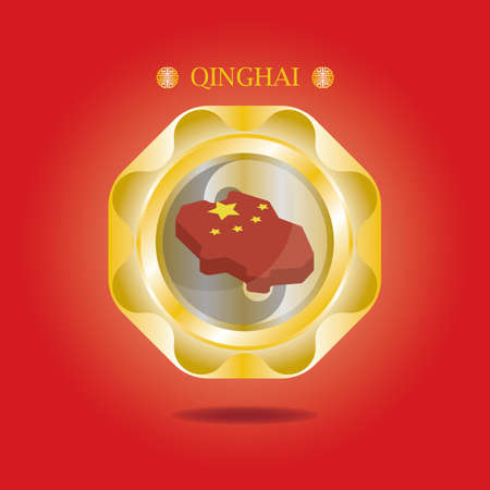 mappa di qinghai