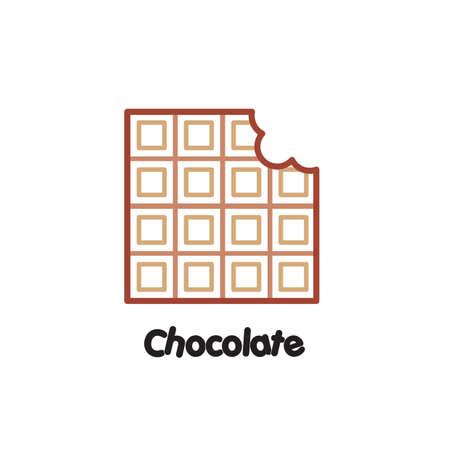 チョコレート  イラスト・ベクター素材