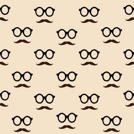 snorren en glazen patroon achtergrond